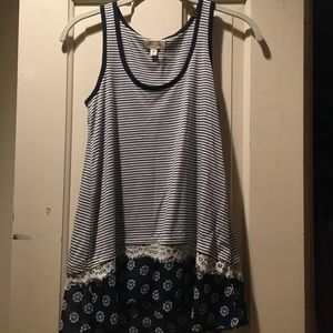 Madison Jules Sleeveless blouse